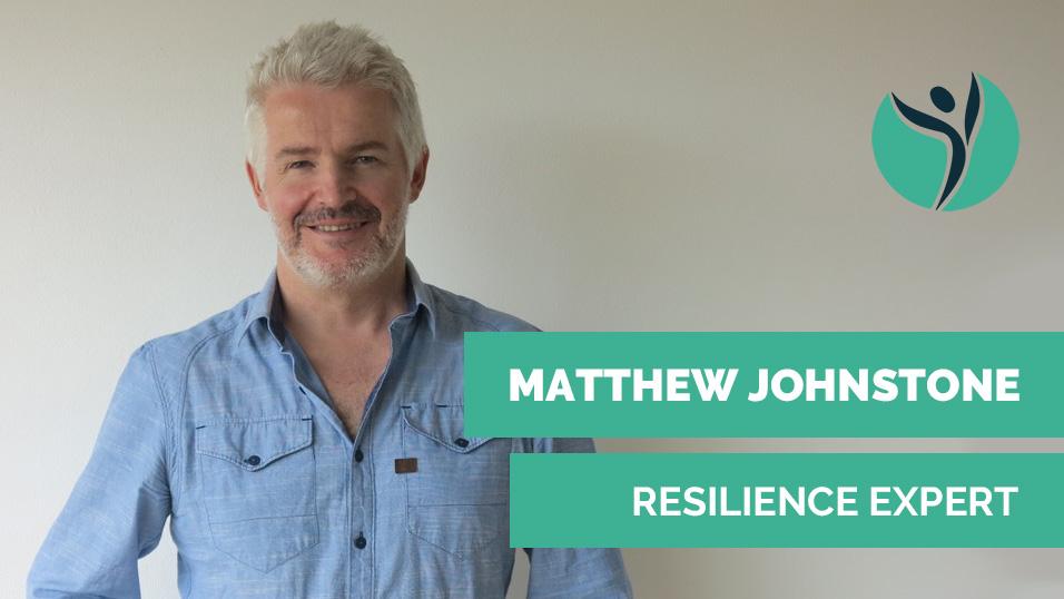 Matthew Johnstone resilience expert